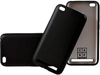 Чехол-накладка Case Deep Matte v.2 для Redmi 5A (матовый черный) -