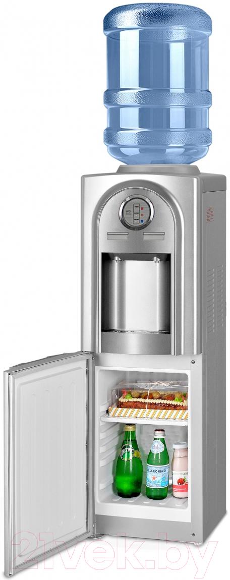 Купить Кулер для воды Ecotronic, V21-LCE со шкафчиком (серебристый), Китай