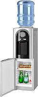 Кулер для воды Ecotronic V21-LCE со шкафчиком (черный) -