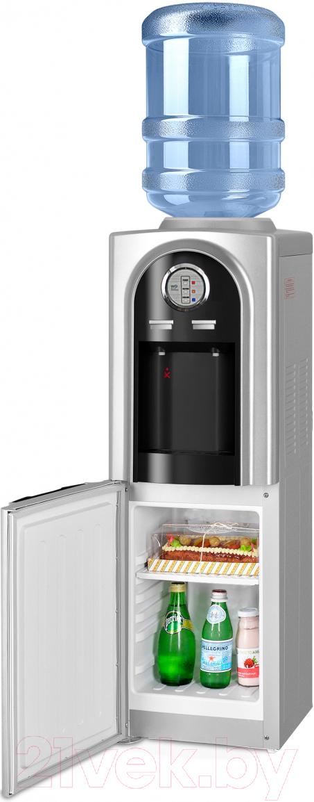 Купить Кулер для воды Ecotronic, V21-LCE со шкафчиком (черный), Китай