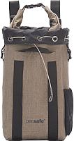 Рюкзак Pacsafe Dry 15L Travelsafe Backpack / 21100210 (бежевый) -