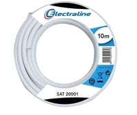 Кабель Electraline 18015 (10м, белый) -