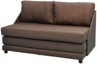 Диван Домовой Барнео 2 (Lux-19 коричневый) -
