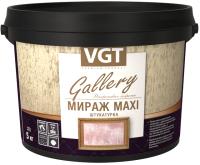 Штукатурка декоративная VGT Мираж MAXI (1кг, серебристо-белый) -