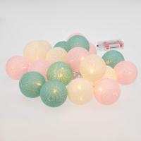 Тайские фонарики Neon-Night Перламутр 303-078 (3.5м, теплый белый) -