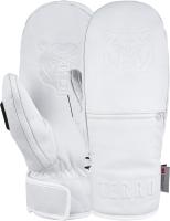 Варежки лыжные Terror Snow Leather Mitten / 0002500 (L, White) -