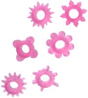 Набор эрекционных колец ToyFa 888200-3 (розовый) -