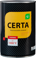 Эмаль Certa Антикоррозийная Термостойкая до 700°С (700г, серебристый) -