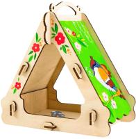 Кормушка для птиц Woody Кормушка для воробушка / 02925 -