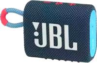 Портативная колонка JBL Go 3 (синий/розовый) -