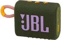 Портативная колонка JBL Go 3 (зеленый) -
