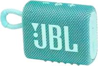 Портативная колонка JBL Go 3 (бирюзовый) -