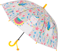 Зонт-трость Михи Михи Альпака с 3D эффектом / MM07461 (желтый) -