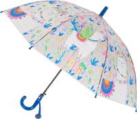 Зонт-трость Михи Михи Альпака с 3D эффектом / MM07464 (синий) -