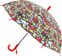 Зонт-трость Михи Михи Машинки MM07608 (красный) -