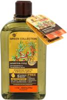 Шампунь для волос Green Collection Уход Надежная защита и яркость цвета (500мл) -