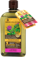 Шампунь для волос Green Collection Уход Против выпадения и ломкости волос (500мл) -