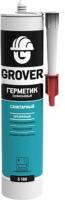 Герметик силиконовый Grover S 100  (300мл, прозрачный) -