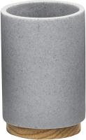 Стакан для зубной щетки и пасты Ridder Sassy Grey 2238107 -