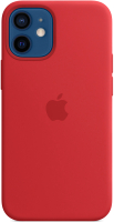 Чехол-накладка Apple Silicone Case w/MagSafe для iPhone 12mini (PRODUCT)RED / MHKW3 -