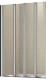 Стеклянная шторка для ванны WeltWasser WW100 100ZF4-100 -