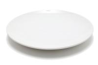 Тарелка столовая глубокая Keramika Alfa (22см, белый) -