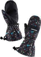Варежки лыжные Luckyboo Future (M, черный) -