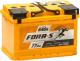 Автомобильный аккумулятор Fora-S R+ (77 А/ч) -