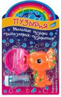 Набор мыльных пузырей Dream Makers Динозаврик-пузырятор / 668-4 -