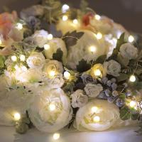 Светодиодная гирлянда Neon-Night Роса с крупными каплями 302-006 LED (теплый белый) -
