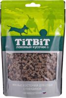 Лакомство для собак TiTBiT Косточки мясные с говядиной / 12857 -