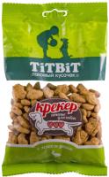 Лакомство для собак TiTBiT Крекер с мясом утки / 13830 (100г) -