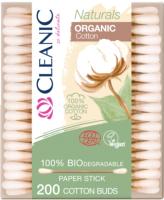 Ватные палочки Cleanic Naturals Virgin Cotton (200шт) -