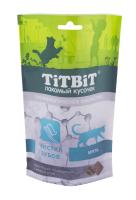 Лакомство для кошек TiTBiT Хрустящие подушечки с мясом утки для чистки зубов / 15407 (60г) -