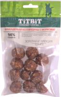 Лакомство для собак TiTBiT Золотая коллекция. Фрикадельки из говядины с морковью  / 19146 (70г) -