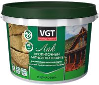 Лак VGT Пропиточный с антисептиком (9кг, бесцветный) -