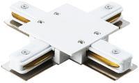 Коннектор для шинопровода Lightstar Barra 501146 (белый) -