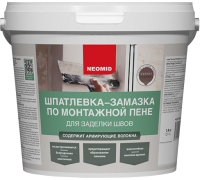 Шпатлевка Neomid По монтажной пене (1.4кг) -