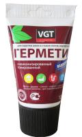 Герметик силиконовый VGT Для наружных и внутренних работ (160г, белый) -