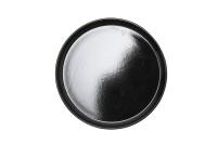Тарелка закусочная (десертная) Keramika Nordic (22см, черный) -