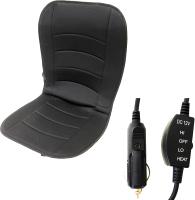Накидка на автомобильное сиденье AVG 204080 (черный, с подогревом) -