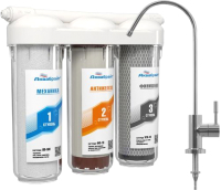 Фильтр питьевой воды Аквабрайт АБФ-Триа-Антижелезо -