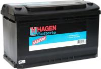 Автомобильный аккумулятор Hagen R+ / 58015 (80 А/ч) -