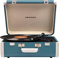 Проигрыватель виниловых пластинок Crosley Portfolio Portable CR6252A-TU (бирюзовый) -