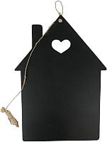 Доска для рисования Grifeldecor Домик с сердцем / BZ172-1B69 -