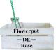 Ящик для хранения Grifeldecor Flowerpot De Rose / BZ171-2W109 -