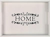 Поднос Grifeldecor Home / BZ172-8W15 (белый) -
