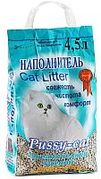 Наполнитель для туалета Pussy-cat Океанический (4.5л) -