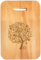 Разделочная доска Grifeldecor Чудо-дерево / BZ181-16C138 -