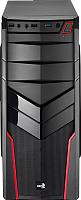 Корпус для компьютера AeroCool V2X (черный/красный) -